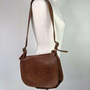 Rare Vtg 70s EUC Coach NYC Saddle Pouch Cashin Bag